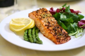 Salmon Meal on Recipes Website