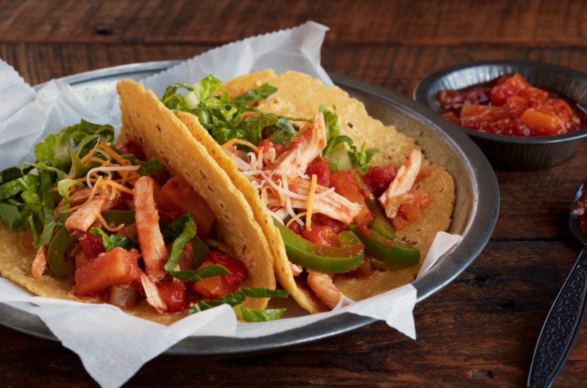 Shredded Chicken Tacos - Mitzi Dulan, America's Nutrition Expert ...