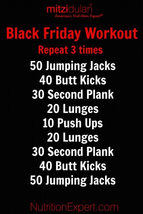 blackfriday workout