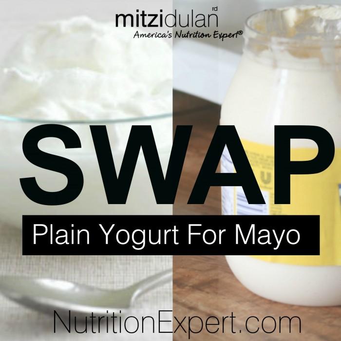 Swap Yogurt for Mayo