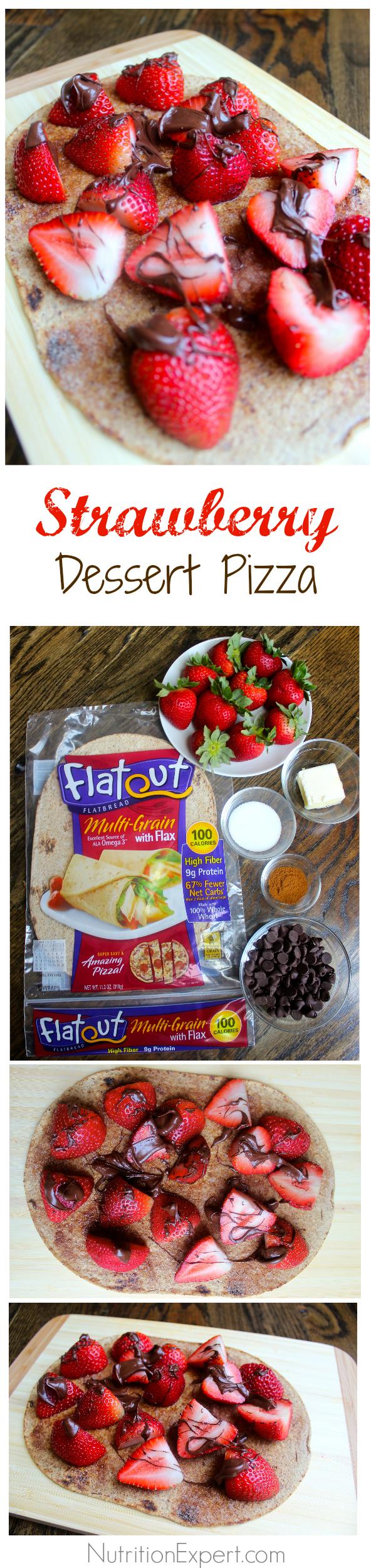 Strawberry Dessert Pizza - Mitzi Dulan, America's ...