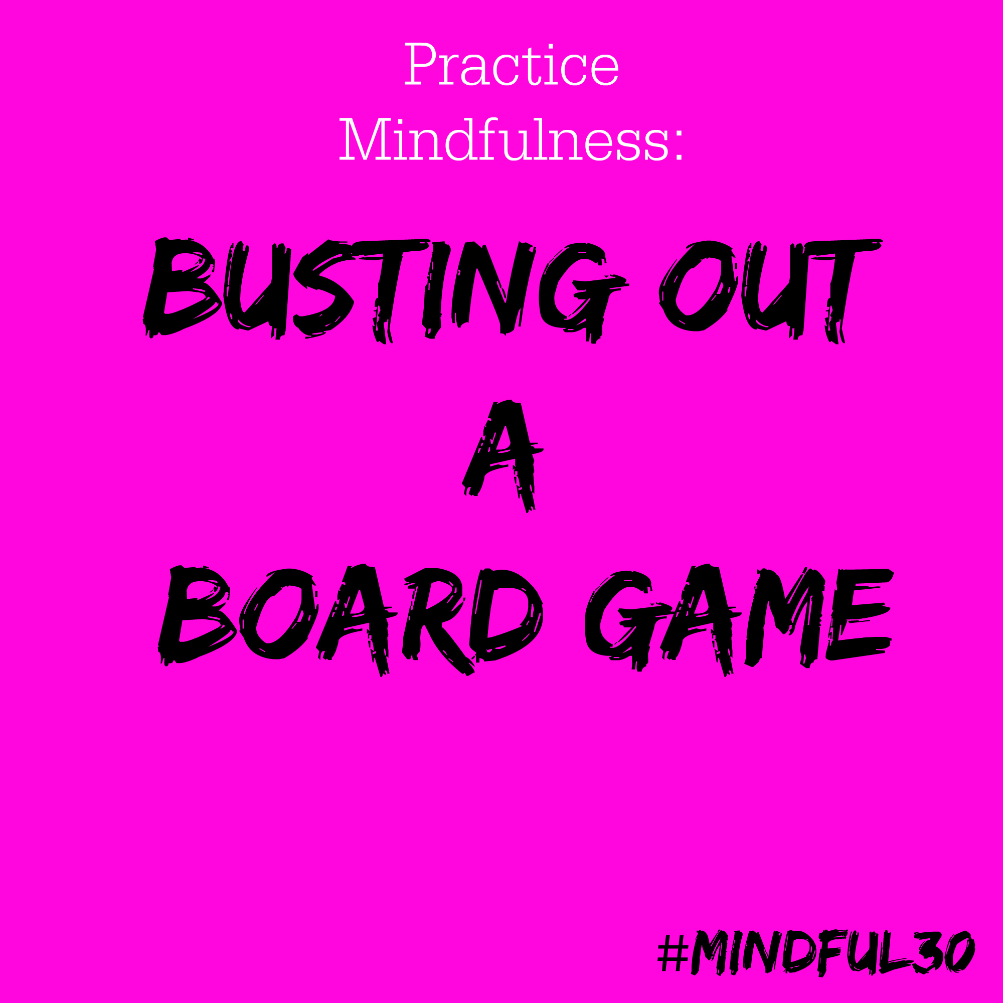 Bust Board Game